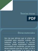 TEORIAS ETICAS