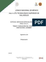 Trazo y Nivelacion de Edificios en Complejo LunaMar.