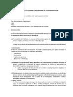SESIÓN 11 Modelo Informe de Sesión