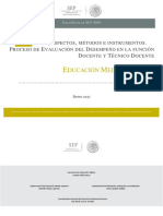 2017-2018 Etapas, Aspectos, Métodos e Instrumentos. Procesos de Eval. Del Des. Doc. EMS