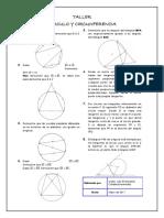 Taller Círculo y Circunferencia