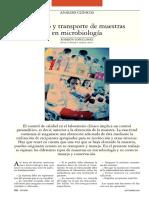 Manejo y Transporte de Muestras en Microbiología