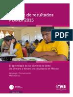 informe planea 2017