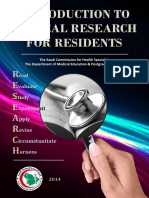 Introduction to Clinical Research for Residents (16.9.14) Hani Tamim (FC1)
