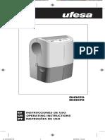 Manual Deshumidificador UFESA