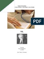What is Faith (Ref Paul Tillich)