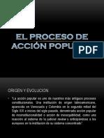 El Proceso de Acción Popular (1)