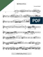 Romanza - Clarinetto in Sib