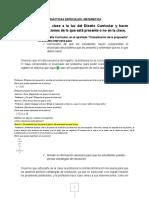 Didácticas Especiales MatemáticaTrabajo Práctico