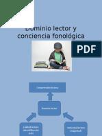Dominio Lector y Conciencia Fonológica