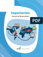 MEP Importacion Manual