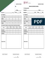 Formato de Reporte General de Notas