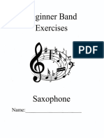 Sax Beg Band Exercises