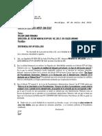 Carta Gerencial Wilson Sandi Romaina