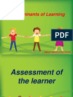 Determinants of Learning (1)