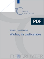 Stavros Frangoulidis, Witches, Isis and Narrative. Approaches to Magic in Apuleius' Metamorphoses (Inglés)