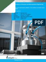 Design and Experimental Validation of Low Stiffness Aerostatic Thrust Bearings