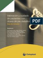 Valoracion y Cuidado de Pacientes Con Ulcera de Pie Diabetico