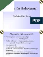 Alteracion Hidrotermal - Porfidos Cu