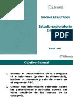 Informe Final Cualitativo Mercado de Infusiones