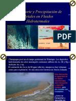 Transporte y Precipitacion - Hidrotermales