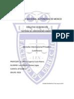 Cuestionario Derecho Internacional Privado 1 2