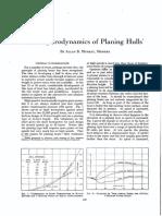 hydrodynamics of Planing Crafts