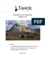 Shahuindo Technical Report 2015