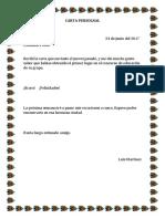 Carta Personal