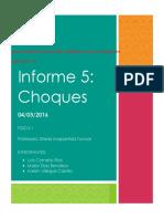 Informe 5-Fisica I- Luis Cornelio,Mario Diaz,Karen Villegas