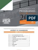 UJ Postgrad Brochure2017 Extended Online