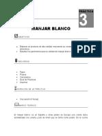 Practica de Manjar