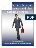 The Difference Between Trial Attorneys and Plea Bargain Attorneys
