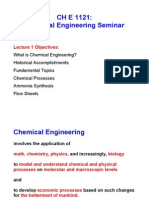 Chemical Engg Seminar