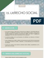 El Derecho Social