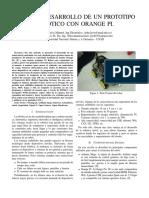 Diseno y Desarrollo de Un Robot