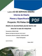 Informe de Diseño Planos y Especificaciones