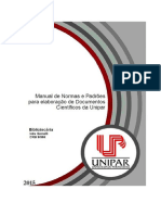 Manual de Normas - UNIPAR - 2015 1