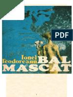 Ionel Teodoreanu - Bal Mascat(v1.0)