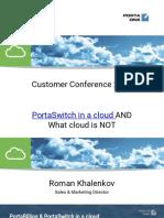 PortaSwitch in a Cloud