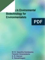Environmental Biotechnology for Environmentalists, by W. B. Vasantha Kandasamy, Florentin Smarandache, S. R. Kannan, S. Ramathilagam