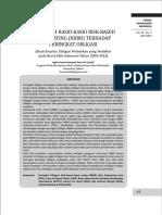 6 Pengaruh Rasio Rasio Risk Based Bank Rating RBBR Terhadap Peringkat Obligasi