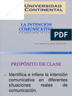 La Intencion Comunicativa