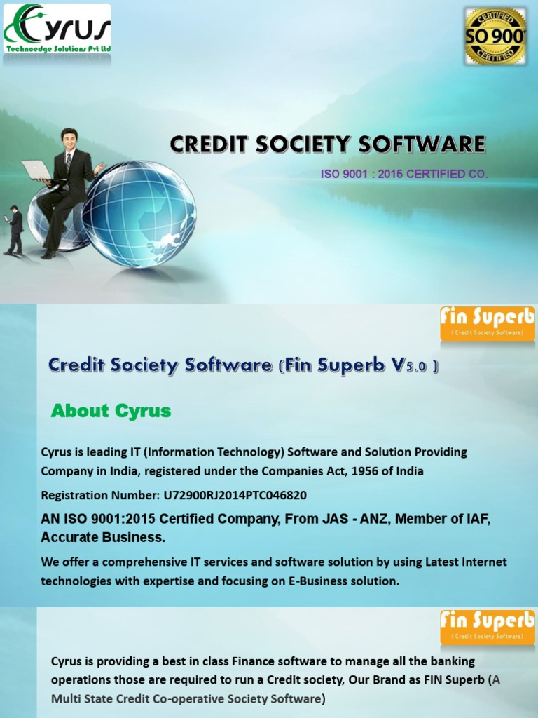 Credit Society Software In India Authentication Banks Accurate Finance