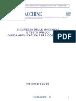 Federmacchine - Sicurezza Delle Macchine e Testo Unico (Guida Per i Cost...