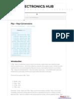 Flipflop Conversion