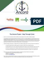 Ancora Info Pack June 2017