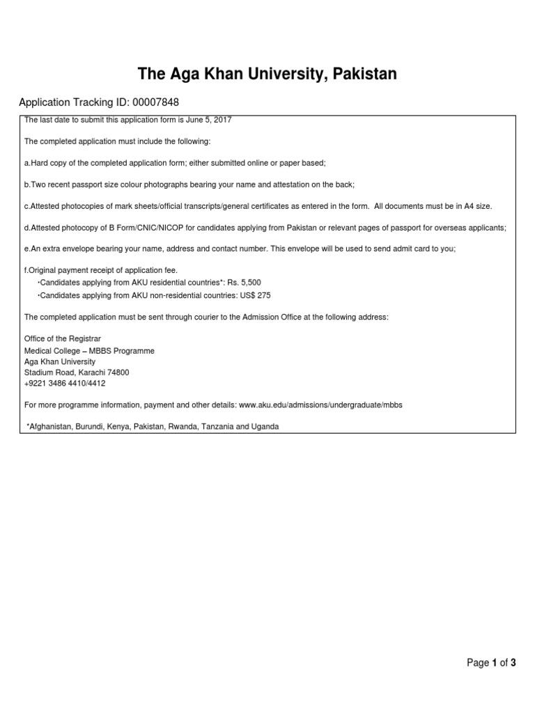 Applicant Form irshad Ali Solangi   Pakistan   Further Education