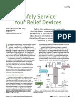 Relief Valves- Safe Service