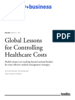 BoozCo - Global Lessons for Controlling Healthcare Costs